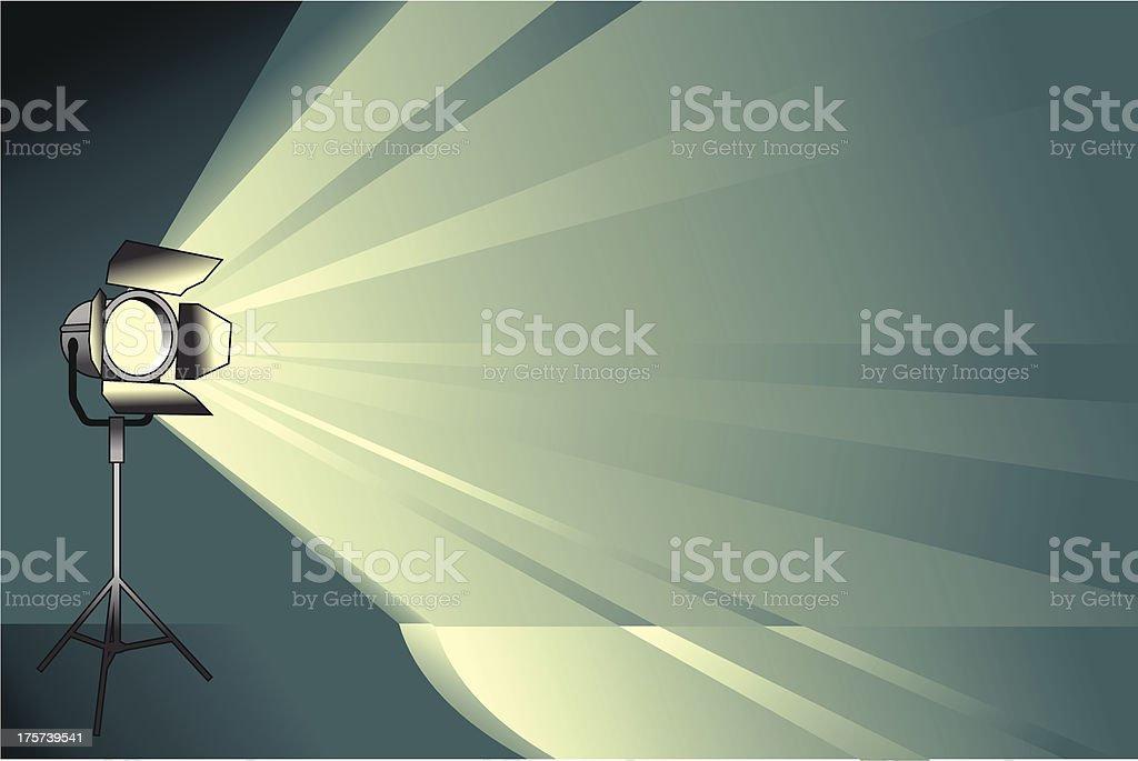 spotlight background royalty-free stock vector art
