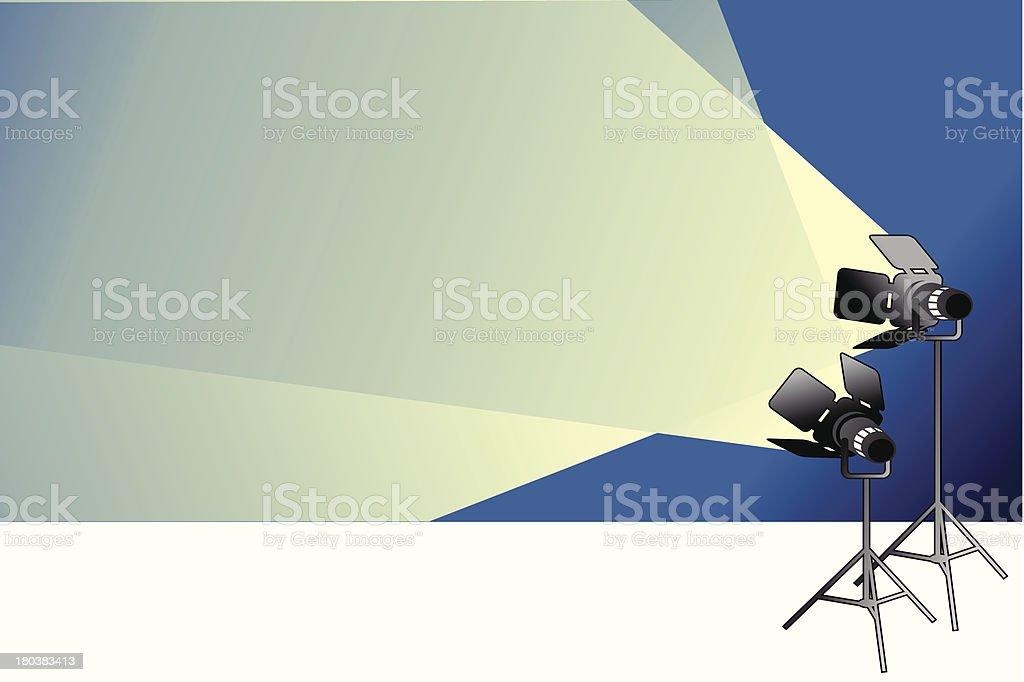 spotlight background royalty-free stock vector art