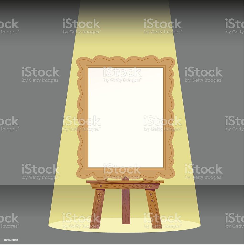 Spotlight Painting royalty-free stock vector art