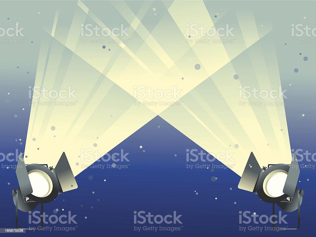 spotlight royalty-free stock vector art