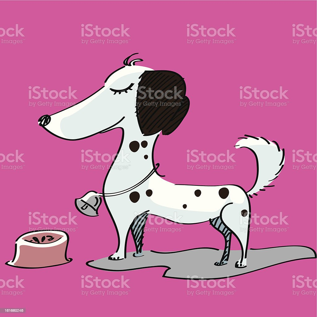 spotted Dog royalty-free stock vector art