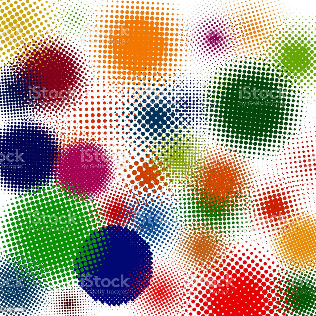 Spotted flash (vector design element). EPS 8 royalty-free stock vector art