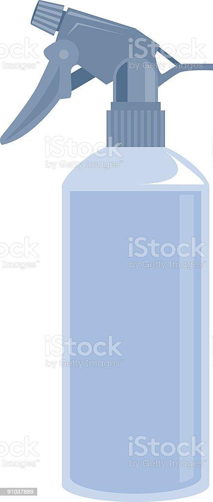 Spray Bottle royalty-free stock vector art