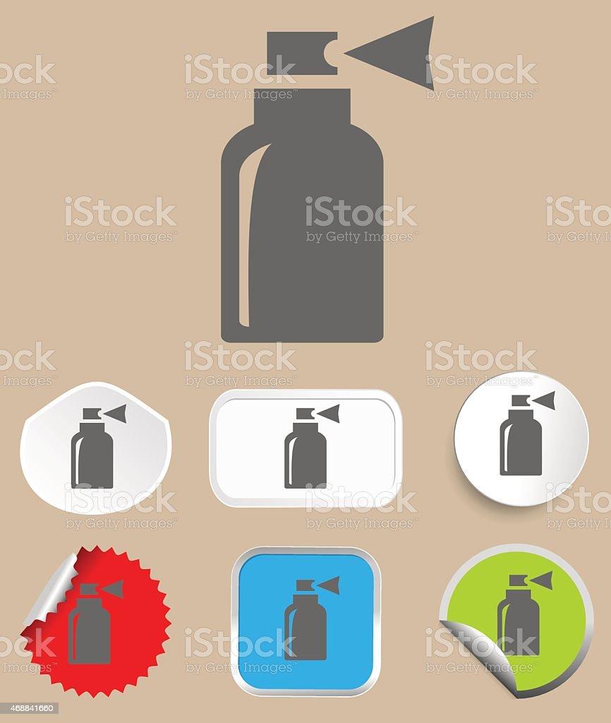 Spray icon - vector illustration vector art illustration