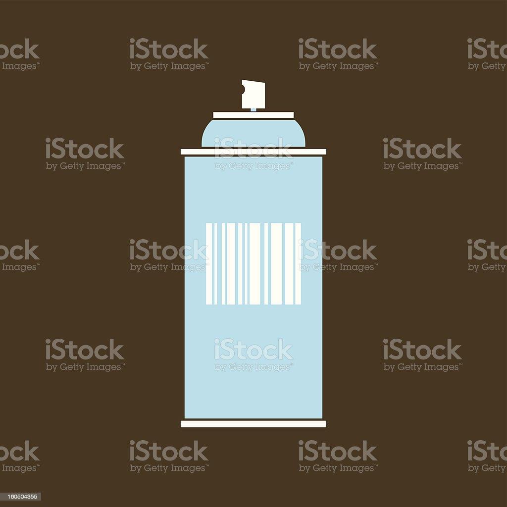 spray vector art illustration