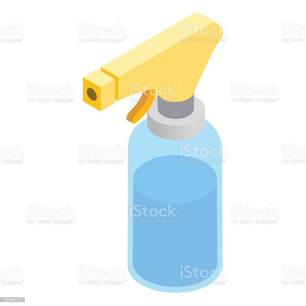 Sprayer isometric icon vector art illustration