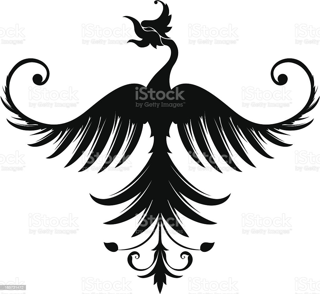 Spread Eagle royalty-free stock vector art