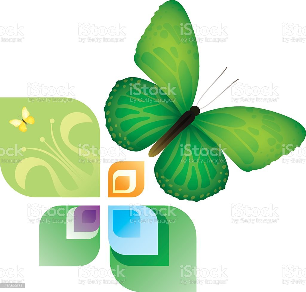 Spring and summer design element royalty-free stock vector art