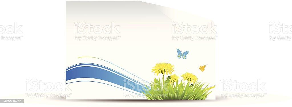 Spring banner royalty-free stock vector art