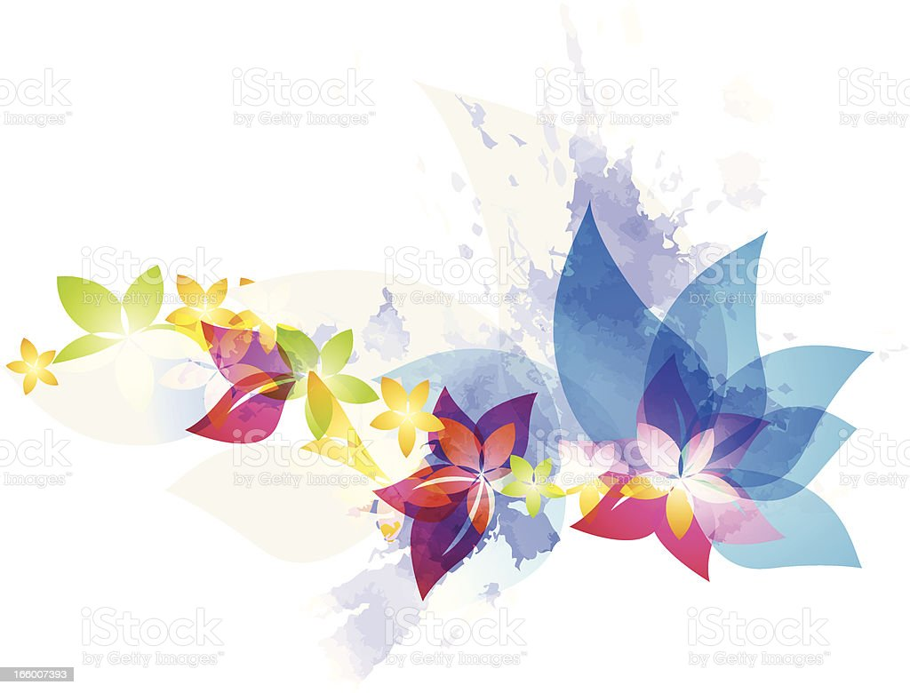 Spring bloom royalty-free stock vector art