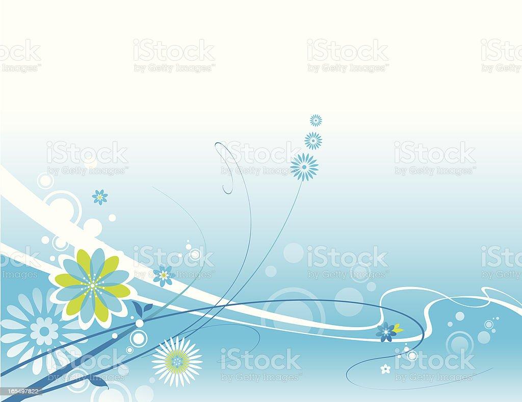 Spring Breeze vector art illustration