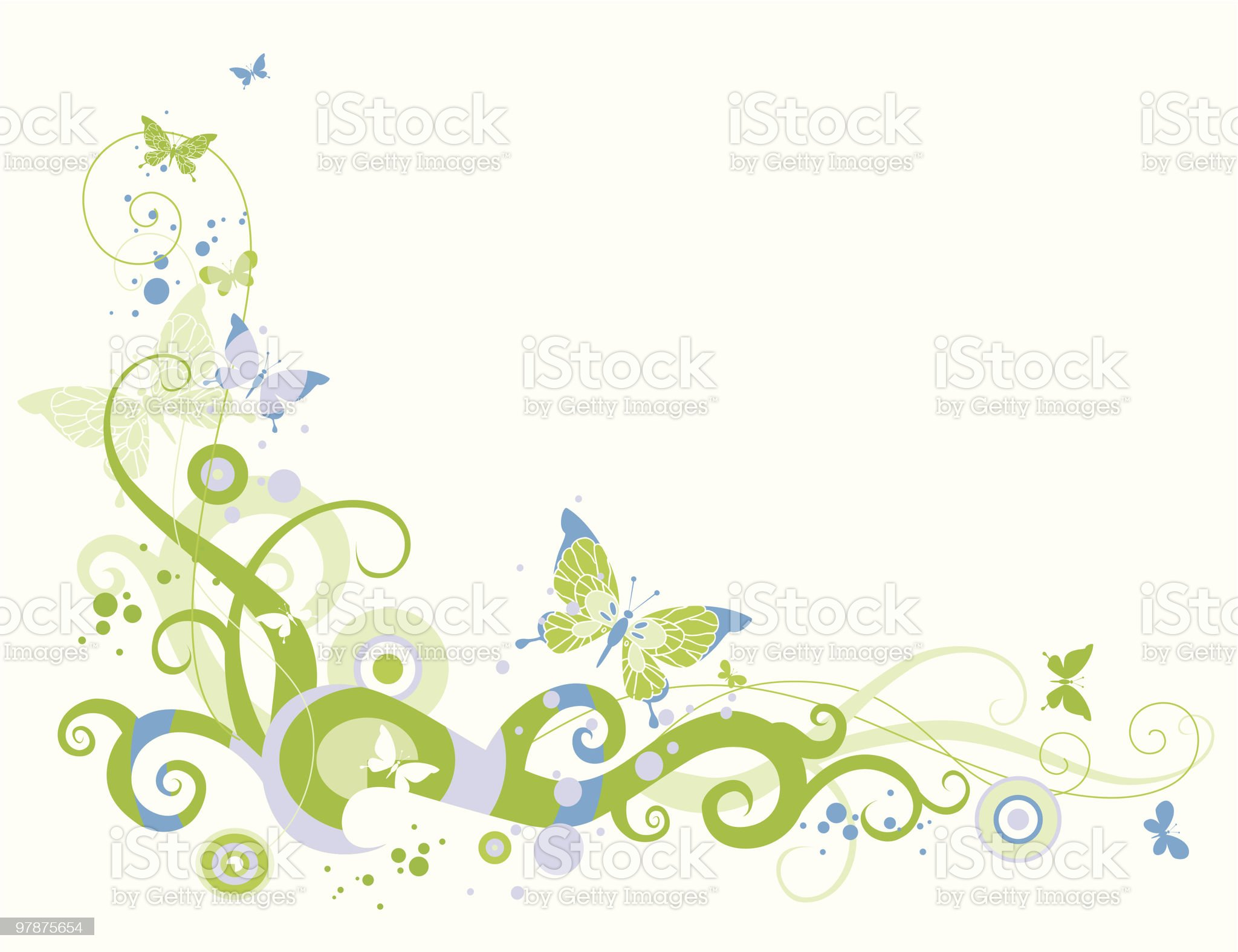 Spring decoration royalty-free stock vector art