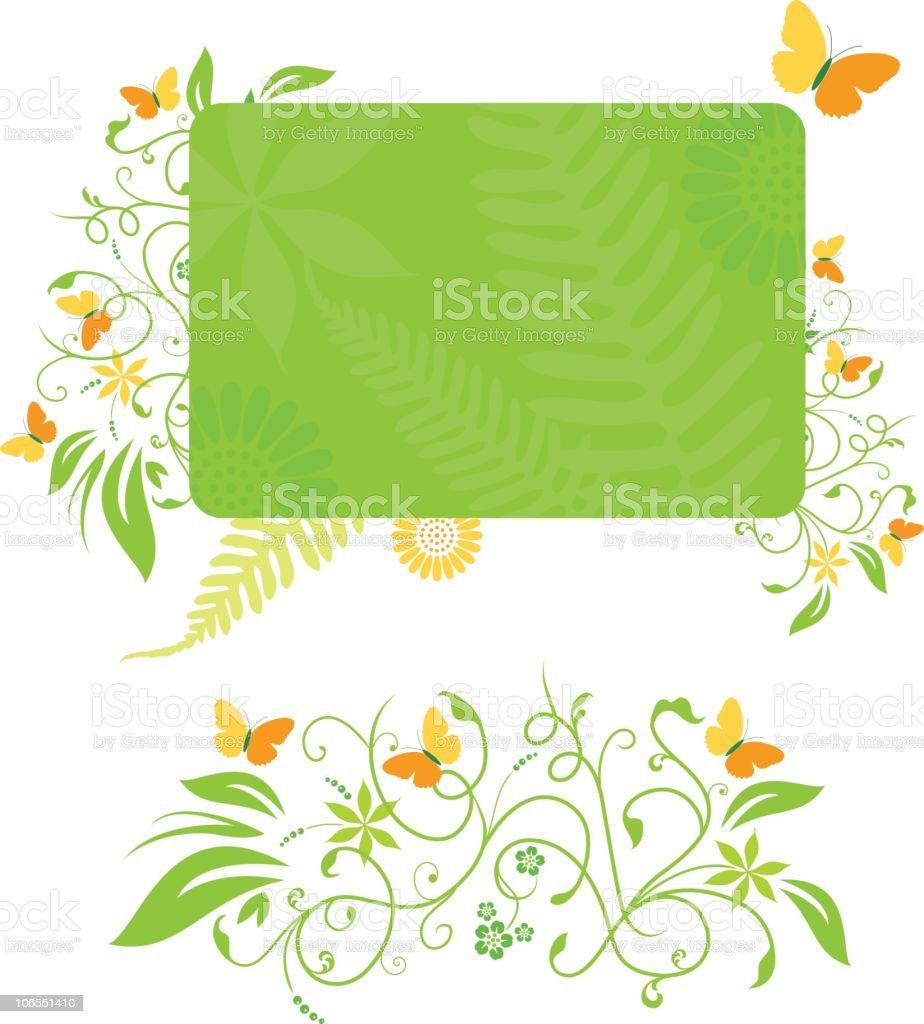 Spring fever royalty-free stock vector art