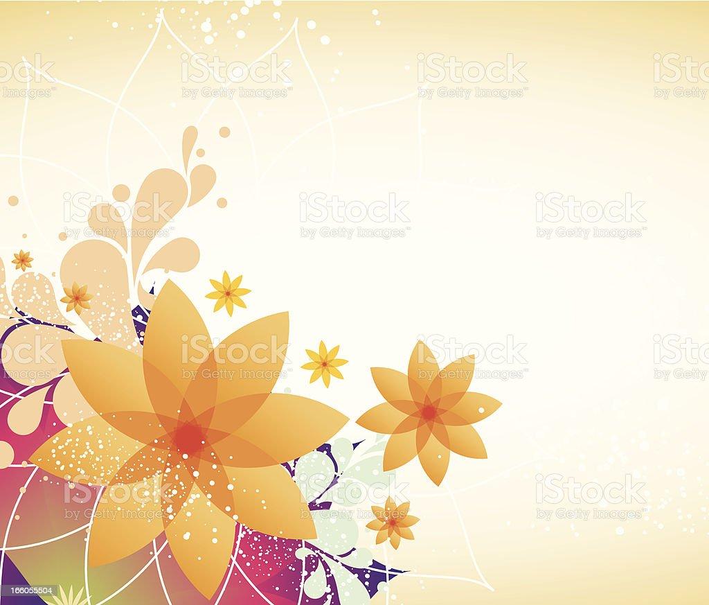 Spring Flower Background royalty-free stock vector art