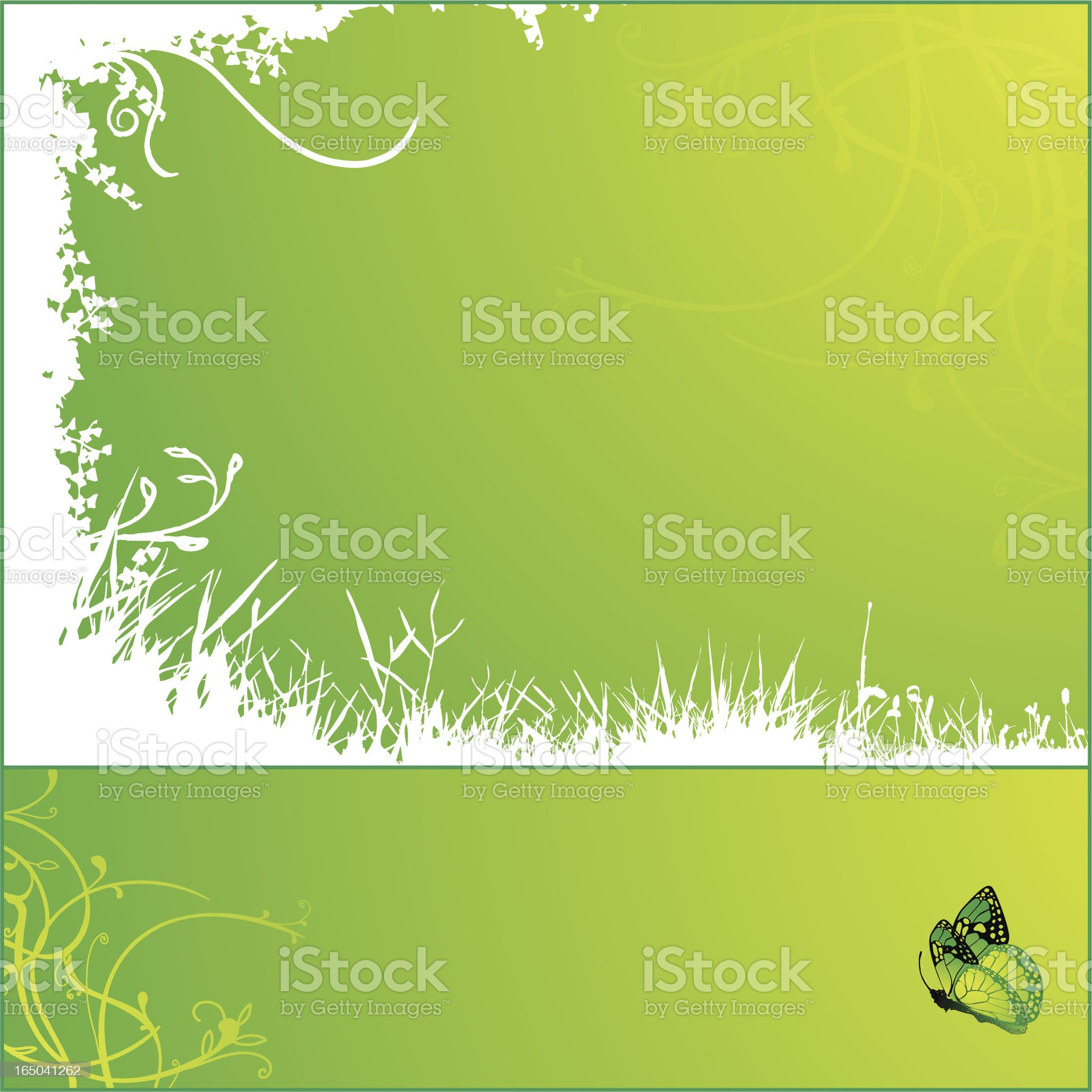 Spring frames royalty-free stock vector art