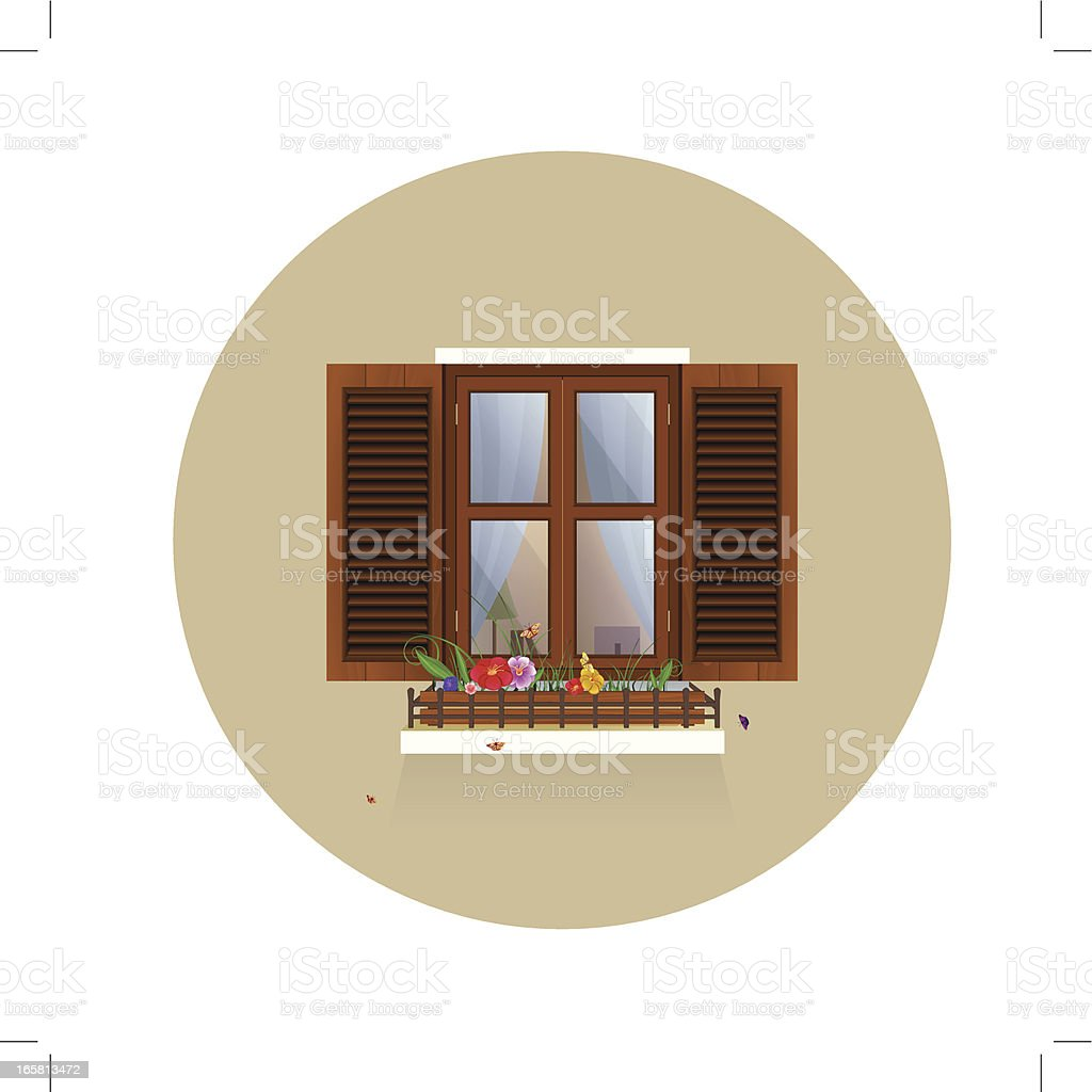 Spring is coming. royalty-free stock vector art