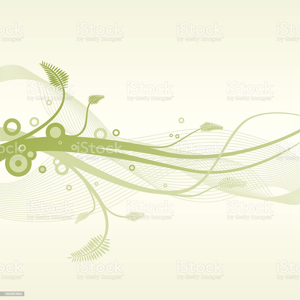 Spring lines. royalty-free stock vector art
