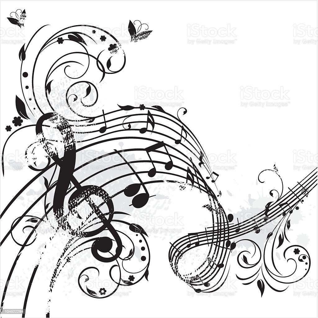 Spring Melody royalty-free stock vector art