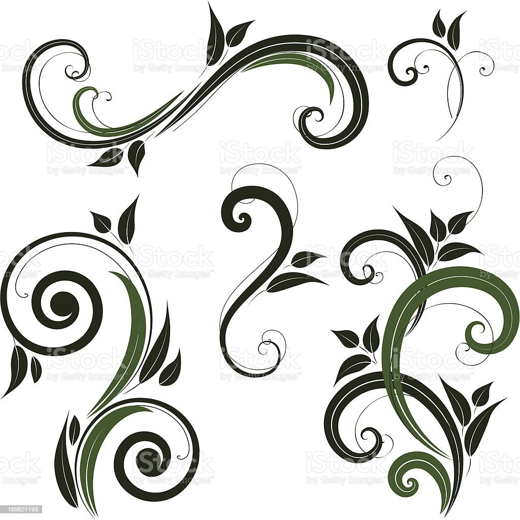 Spring ornament royalty-free stock vector art
