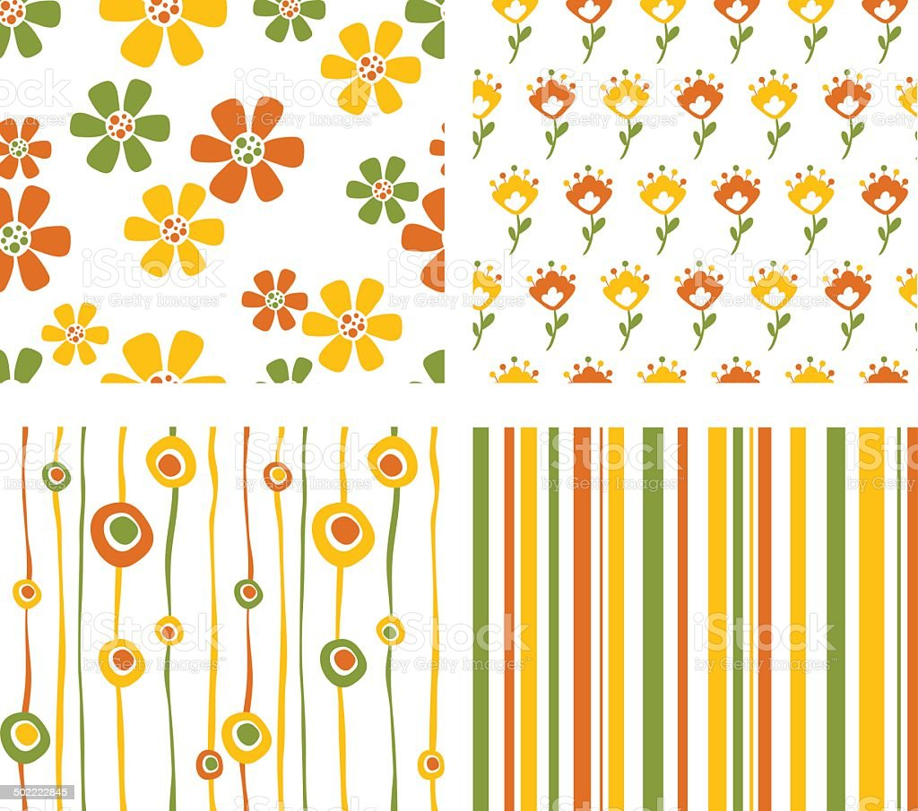 Spring seamless royalty-free stock vector art