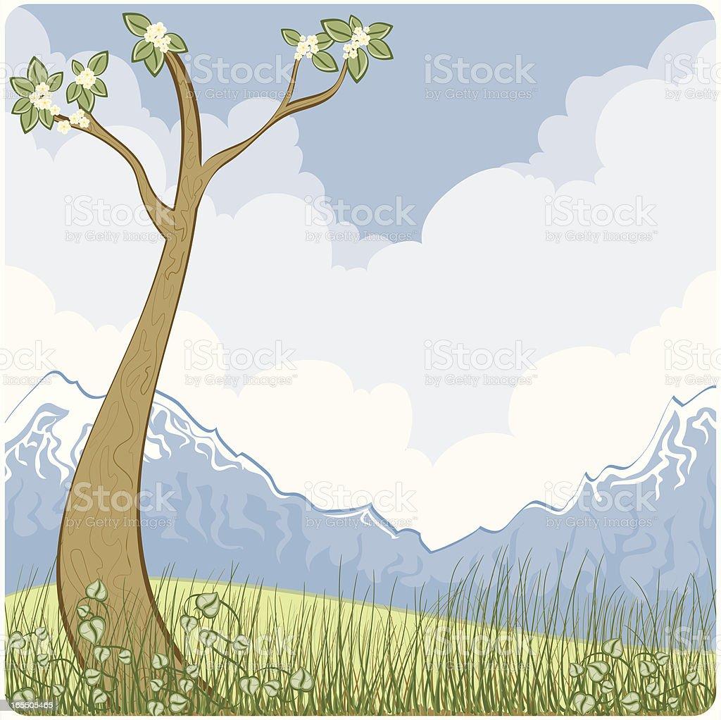 Spring time!!! vector art illustration