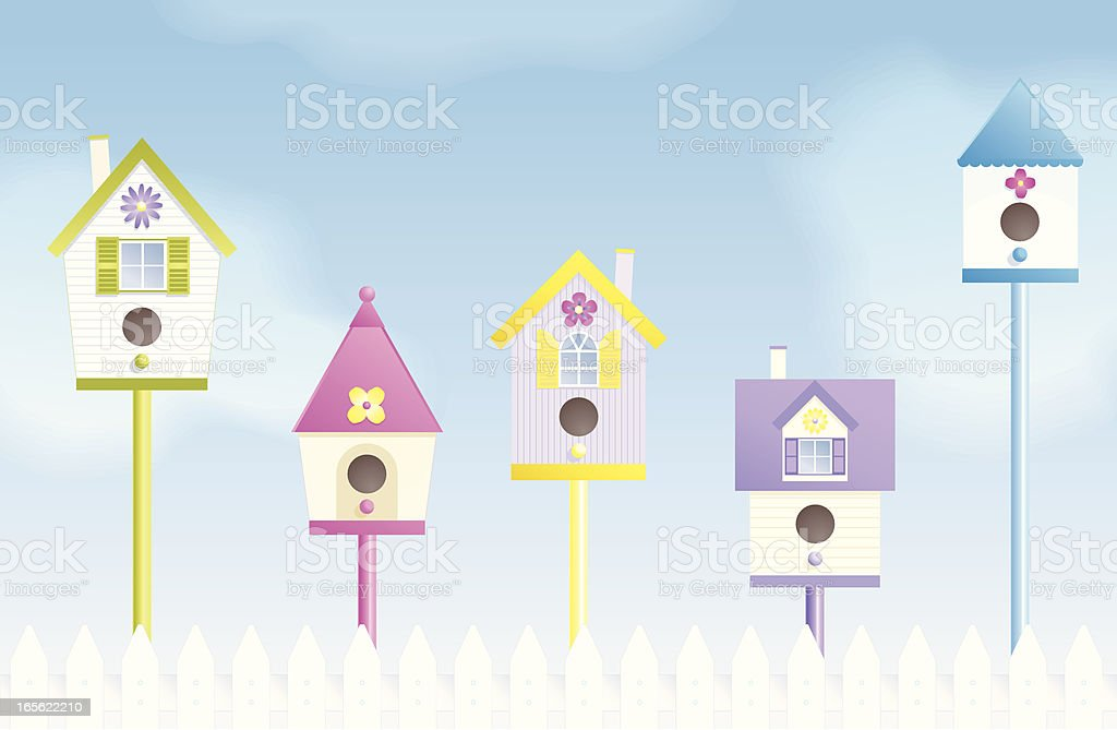 Spring Vacancies royalty-free stock vector art