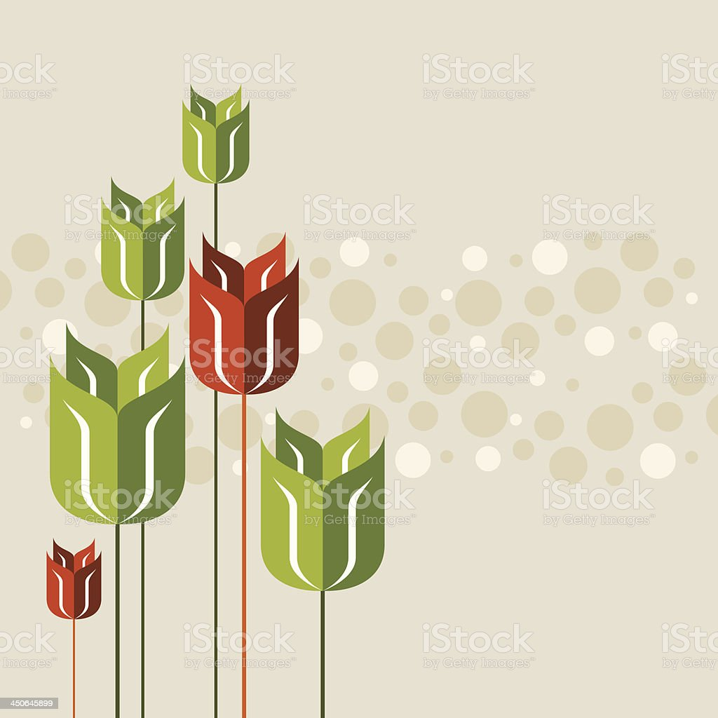 springtime poppy royalty-free stock vector art