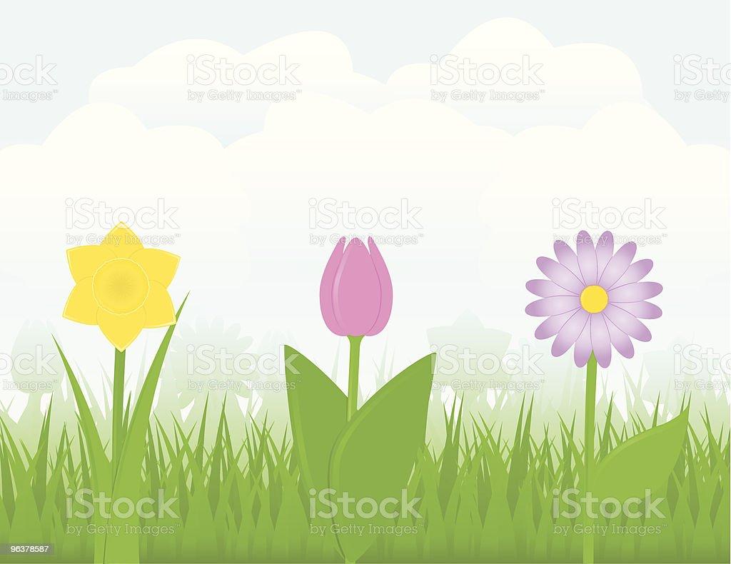 Springtime royalty-free stock vector art