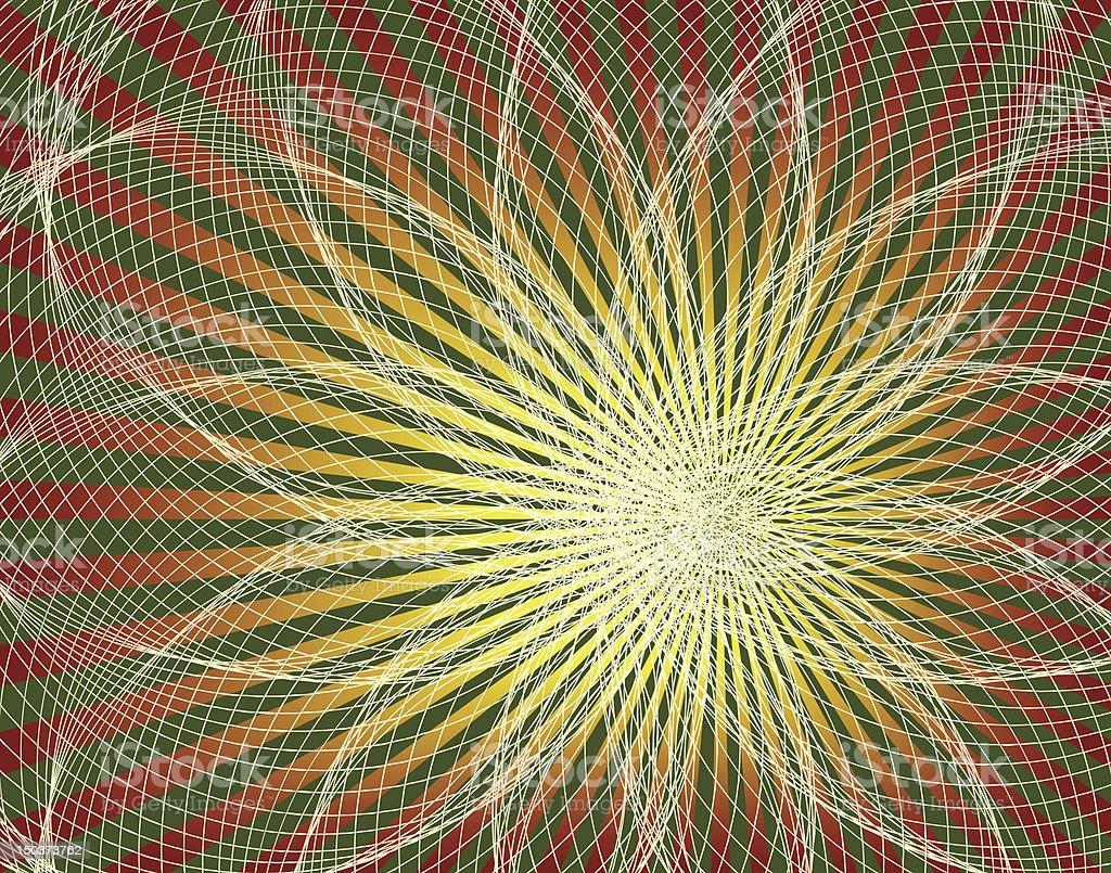 Spyroflower royalty-free stock vector art