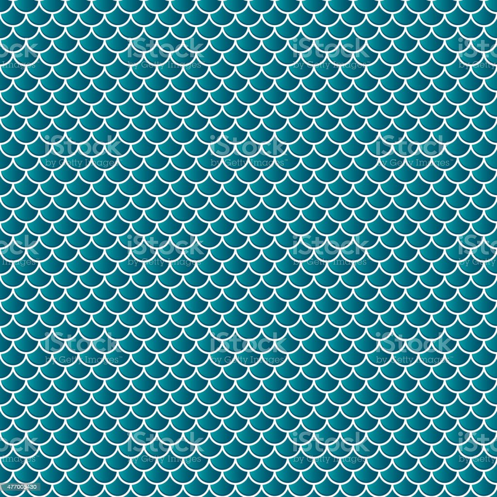 Squama fish snake lizard scales seamless background vector art illustration