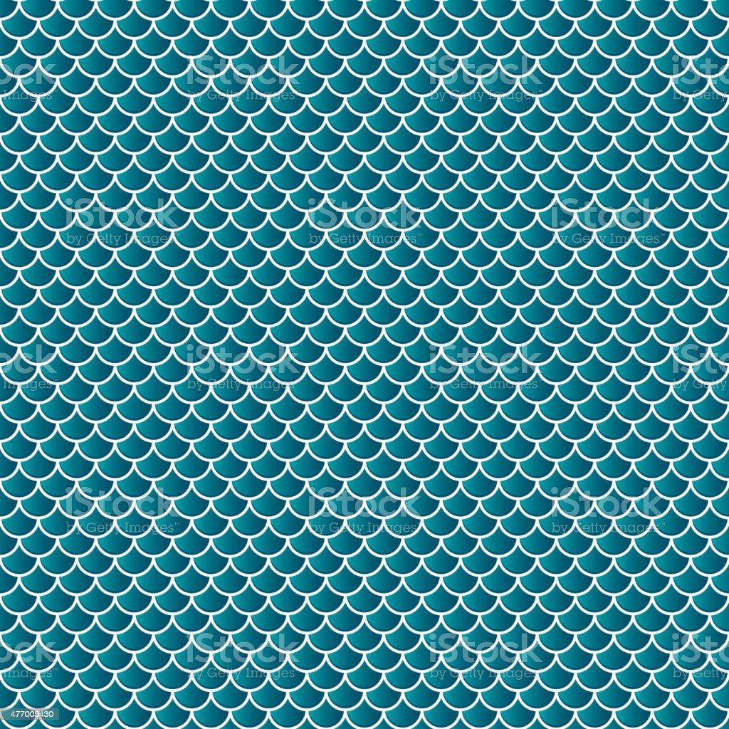 Squama fish snake lizard scales seamless background vector art illustration