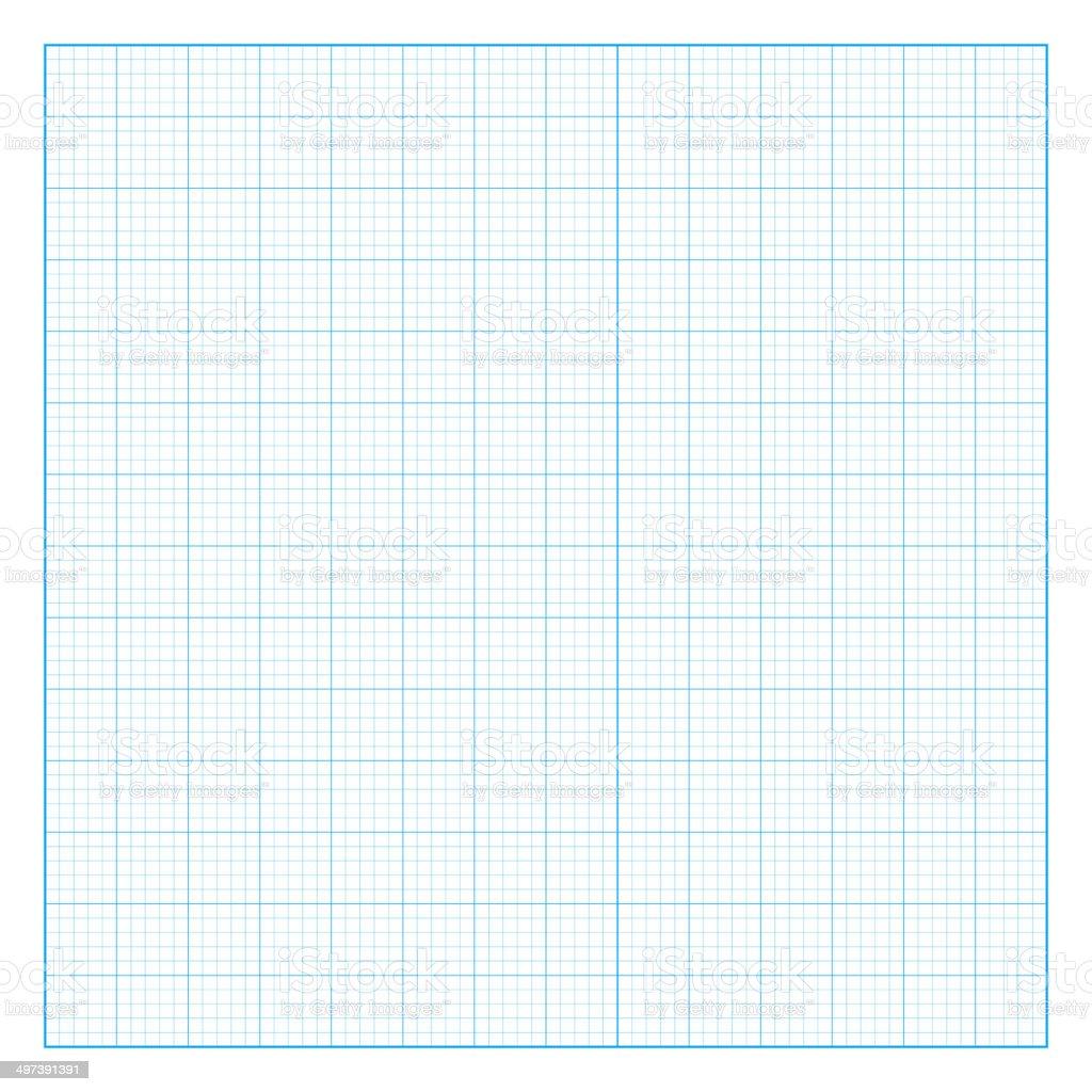 Square grid background on white background. vector art illustration