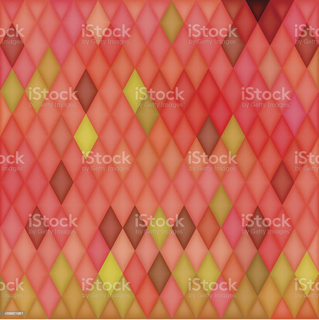 Square Mosaic Background vector art illustration