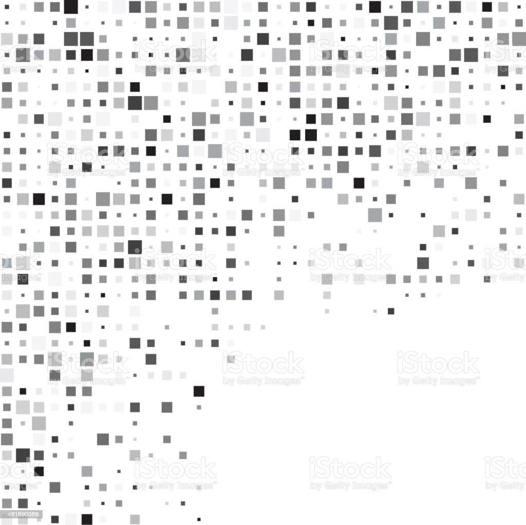 Squares grey technology pattern vector art illustration