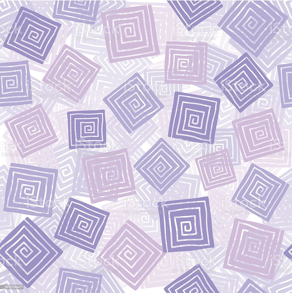 Squares seamless pattern royalty-free stock vector art