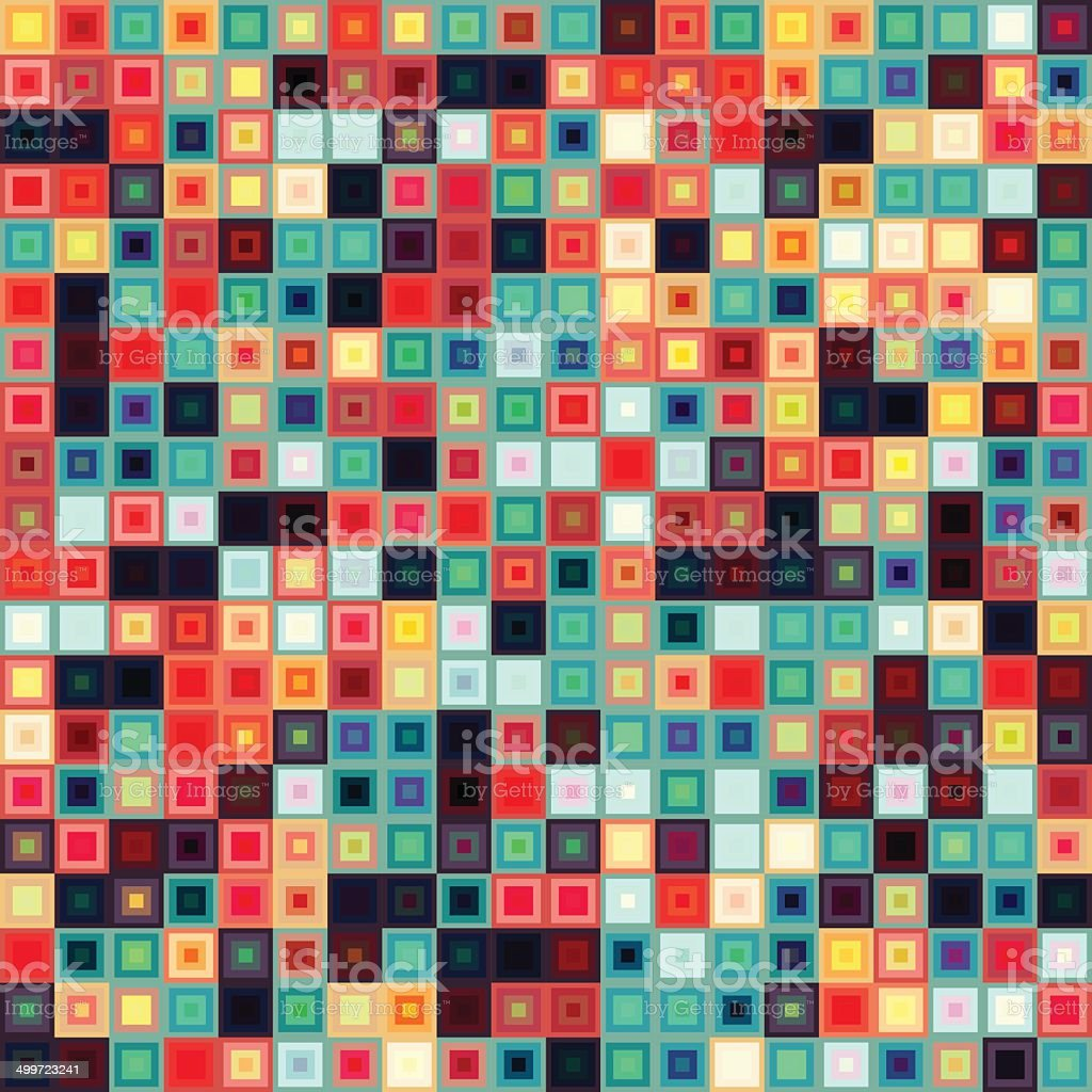Squares vector art illustration