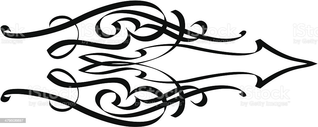 squiggle4 royalty-free stock vector art