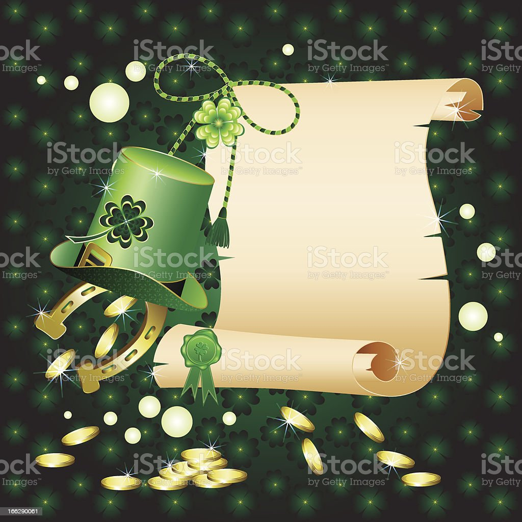 St  Patrick s Day royalty-free stock vector art