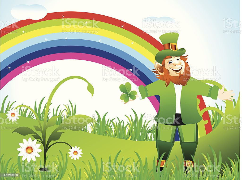 st patricks Background royalty-free stock vector art