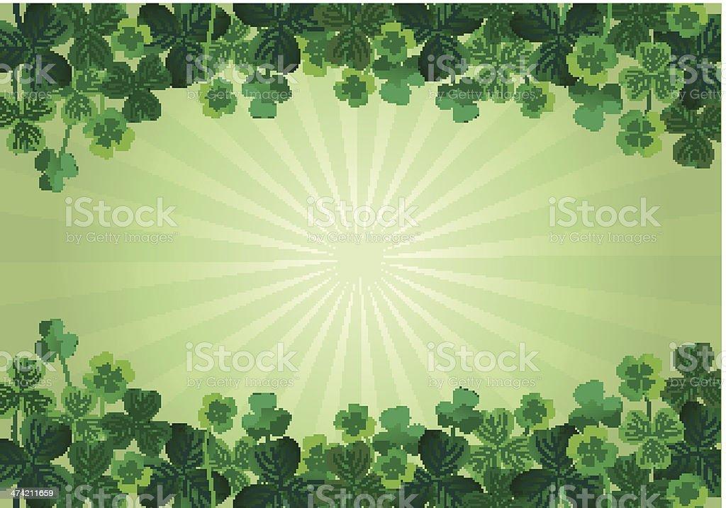St. Patrick's Day Background vector art illustration