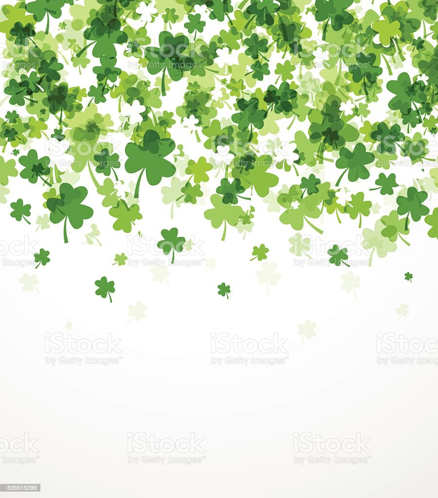 St. Patrick's day background vector art illustration