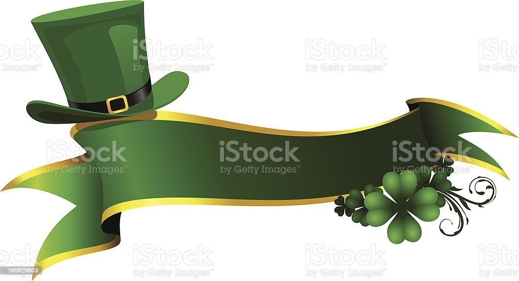 St. Patricks Day Banner royalty-free stock vector art