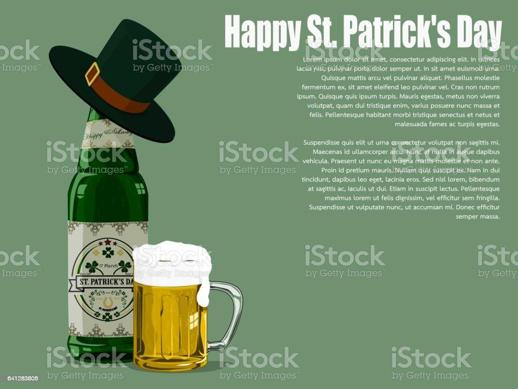 st patricks day beer stock vector art 641283806 istock