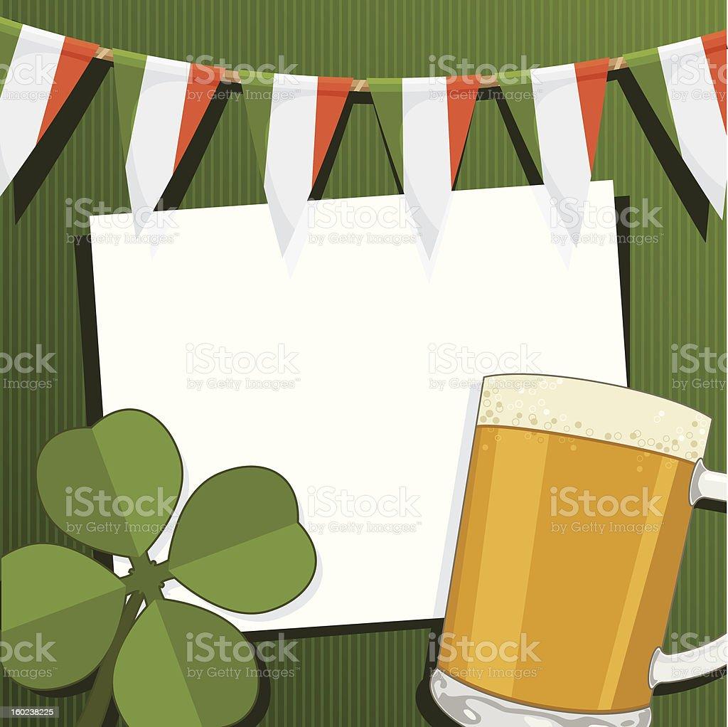 st patricks day card royalty-free stock vector art