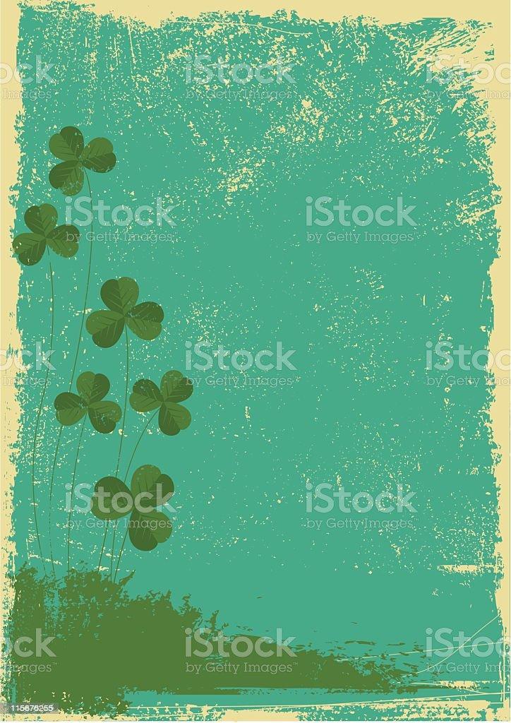 St Patrick's day vector art illustration
