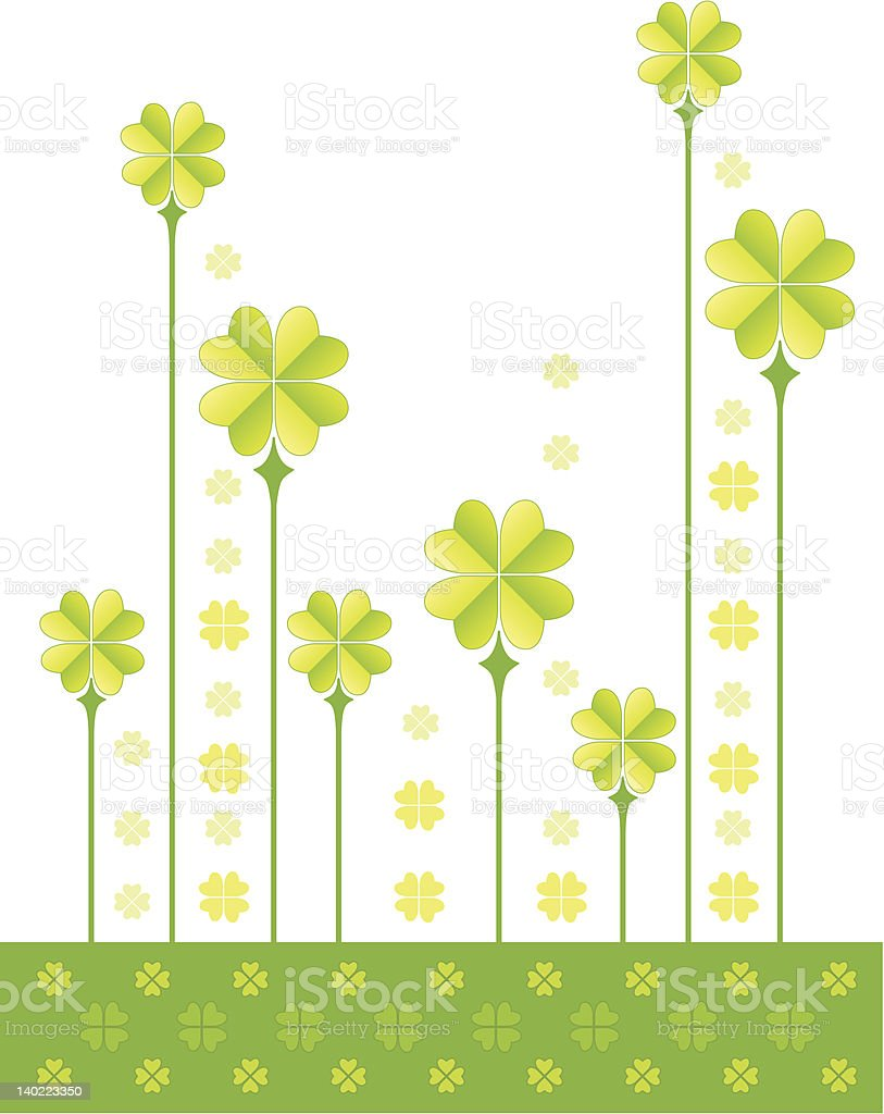 St Patrick's Day royalty-free stock vector art