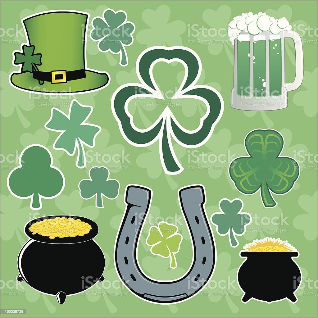 St. Patrick's Day (vector) royalty-free stock vector art