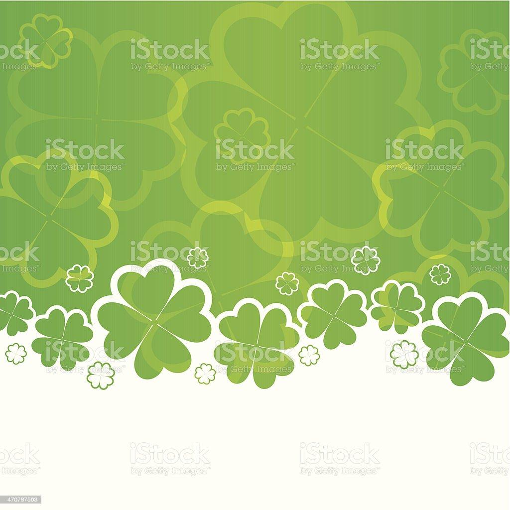 St Patricks Day vector art illustration