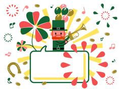 St. Patrick's Day vector art illustration