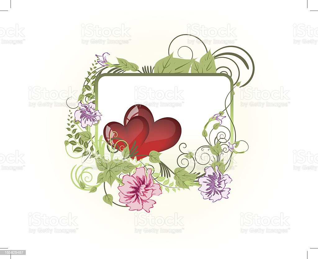 St. Valentine's day card royalty-free stock vector art